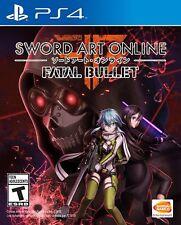 Sword Art Online Fatal Bullet (PlayStation 4) BRAND NEW