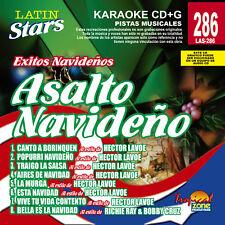 Karaoke Latin Stars 286 Asalto Navideño