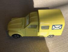 Majorette Mail Van Citroen Acadiane Yellow #235 / France. Nice!