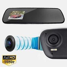 Full Hd 1080P Dash Cam Video Recorder Rearview Mirror Car Camera Vehicle Dvr Mt