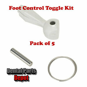 Pack of 5 Foot Control Toggle Kits, Gray (DCI #9329 x 5)