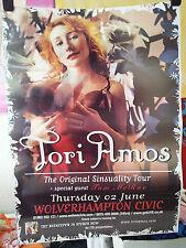 Tori Amos tour poster orginal Sinsuality Wolverhampton 2005 Summer Sin Beekeep