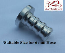 10MM BILLET BOV RECIRC VALVE BLOW OF VALVE BLANKING SILICON BUNG PLUG HOSE-Solid