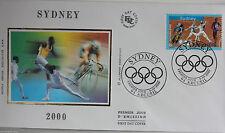 ENVELOPPE PREMIER JOUR - 9 x 16,5 cm - ANNEE 2000 - SYDNEY