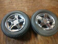 "Pair of Quantum Jazzy 600 Powerchair Drive tires 14x3"" (300-8) Wheels"