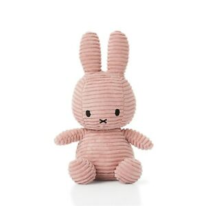 NEW OFFICIAL MIFFY NIJNTJE CORDUROY PINK SOFT TOY PLUSH DICK BRUNA COLLECTABLE