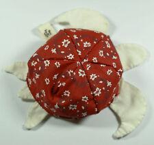 bouillotte bio pour bébé tortue liberty rouge
