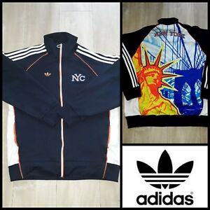 Adidas New York Rare Retro Vintage Track Jacket M/ limited édition