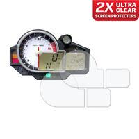 BMW S1000RR 2009-2014/ HP4 2013-2014 Dashboard Screen Protector: 2 x Ultra Clear