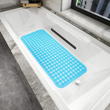 88x40CM Shower Bath Mat Tub Shower Anti Slip Tape Non Skid Safety Mats Carpet US