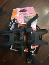 Avenir resin alloy atb pedals with toe clips straps 9/16 axle - New In Box