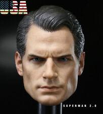 1/6 Henry Cavill Superman Head Sculpt 2.0 Clark Kent For Hot Toy PHICEN ❶USA❶