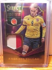 PANINI SELECT SOCCER 2015 PURPLE RADAMEL FALCAO 2-COLOR 7/25 COLOMBIA PRIZM