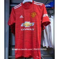 BNWT Adidas 2020 2021 MANCHESTER UNITED Home Soccer Jersey Football Shirt GC7958