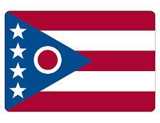 Ohio Flag Sign Custom Metal Sign Durable Aluminum No Rust Full Color F#533