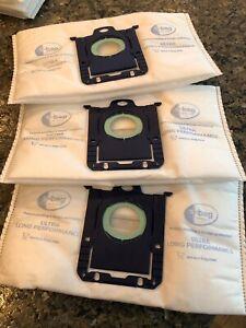 GENUINE Electrolux EL211 Ultra-Long Performance Vacuum S-Bags - 3 bags w/plastic