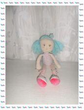 S - Doudou Poupée de Chiffon Danseuse Cheveux Bleus  Kaloo