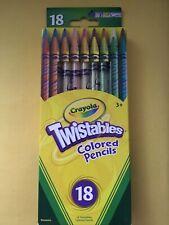 Crayola Twistables Colored Pencils Assorted Colors 18 ea