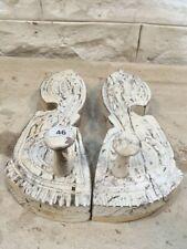 indian hindu god footprints vintage eclectic piece mythology homeware paduka A