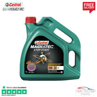 Castrol Magnatec Stop-Start 0W30 C2 Fully Synthetic Oil 4 Litres