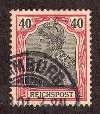 Germany # 59 (1900) 40pf - Used: Grade: Vf/Xf - Germania Issue
