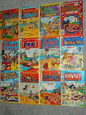 Archie Series Bikini Swimsuit (Lot of 12) VG 1972-1991 Hit Riverdale TV Series!