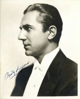 Bela Lugosi photo w/reproduction signature archival quality 001