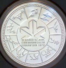 Uncirculated 1978 Canada $1 Silver Dollar 11th Commonwealth Game Edmonton