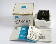 Minolta AF 50mm F1.7 lens (Sony A mount)