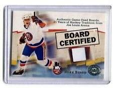 2001 Fleer Board Certified Joe Louis Arena Detroit Board Piece Mike Bossy jh12