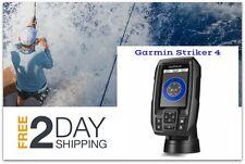 Marine GPS and Depth Finder Garmin Fishfinder Sonar Display Combo w/ Transducer