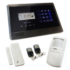 Wireless Burglar Alarm GSM Touch Screen Intruder House Sentry Pro Solution 1