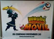 Cinema Poster: MOSHI MONSTERS THE MOVIE 2013 (Dr Strangeglove & Fishlips Quad)