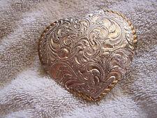 Vintage El Arturo Bronze Crumrine Belt Buckle