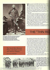 Thin Red Line - History of The Mounted Police
