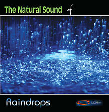 NATURE SOUNDS - RAINDROPS - new age CD