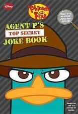 """VERY GOOD"" Agent P's Top-Secret Joke Book (Phineas and Ferb), Peterson, Scott,"
