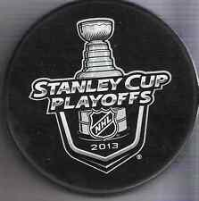 2013 National Hockey League Stanley Cup Playoffs Souvenir Puck