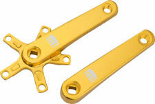 Promax SQ-1 Square Taper JIS Cold Forged Crank Arms 150mm Gold