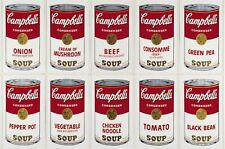 Andy Warhol Campbell Soup classic Canvas wall pop art  20 x 30 Inch A1 large new