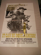 It Can be done . . . Amigo! Original One Sheet Movie Poster - Spaghetti Western