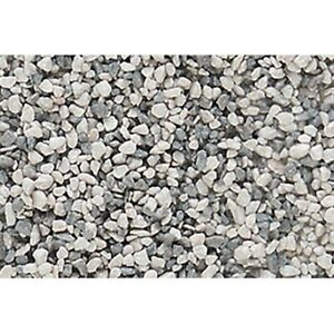 Woodland Scenics B1395 Gray Blend Coarse Ballast Shaker Container 50 cu. in.