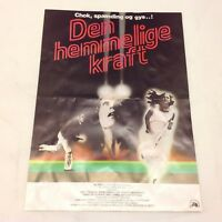 The Fury Kirk Douglas John Cassavetes Snodgress 1978 Danish Movie Press Release