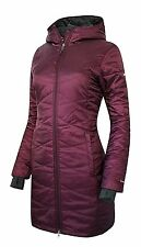 Columbia Womens PLUS 3X MORNING LIGHT HOODED Omni-Heat Down Jacket PURPLE XXXL