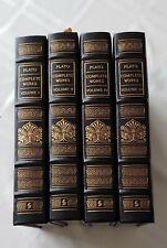 Easton Press COMPLETE WORKS OF PLATO in 4 vols