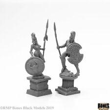 Reaper Miniatures Bones Black - 44126 : Amazon and Spartan Living Statues Bronze