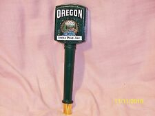 "Vintage Oregon Original India Pale Ale Beer Tap Handle Knob Dark Green 9.5"" Tall"