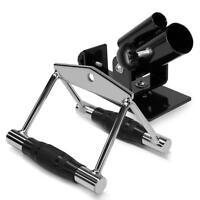 A2ZCare Combo T-Bar Row Platform & Rubber Double D Handle x