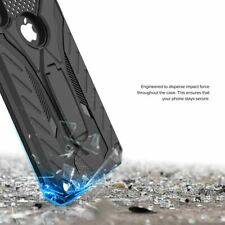 Soporte Antichoque Funda para IPHONE X XS XR Max 6 6s 7 8 5 5s Se Plus Militar
