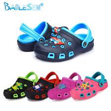 Kinder Clogs Schuhe Hausschuhe Badeschuhe Gartenschuhe Sandalen GR 24-35